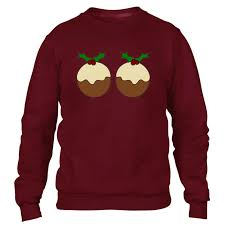 christmas pudding sweater funny jumper ugly xmas party gift