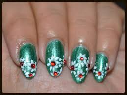simple white flower nail design quick and easy nail art love
