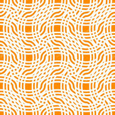 abstract line background orange seamless pattern geometric