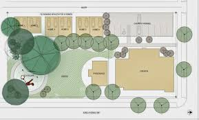 Floor Plan Of A Church by Neiman Taber Architects Housing On The Green West Seattle