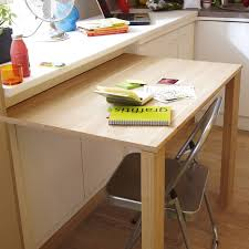 ilot cuisine avec table coulissante ilot de cuisine avec table 8 pratique cette table coulissante