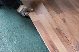 Laying Laminate Floors How To Install Roberts Vapor Barrier Underlayment