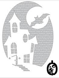 halloween ghost stencil advanced halloween pumpkin carving templates hgtv