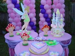 Birthday Table Decorations by Tinkerbell Birthday Table Decoration Image Inspiration Of Cake