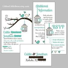 wedding invitations inserts shop birdcage wedding invitations on wanelo