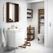 Wood Bathroom Furniture Bathroom Cabinets Ikea Add Character Bathroom Cabinets Dark Wood