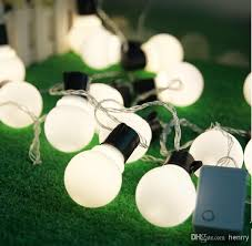 large bulb outdoor christmas lights 10m led large bulb string light waterproof outdoor patio lanterns
