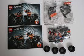 lego technic motocross bike lego review 42001 mini off roader rebrickable build with lego