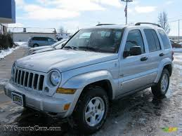 2006 green jeep liberty 2006 jeep liberty sport 4x4 in bright silver metallic 257712