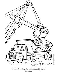52 construction images dump trucks coloring