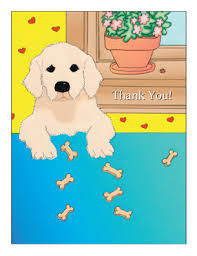 kid cards kids thank you card
