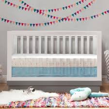 Babyletto Hudson 3 In 1 Convertible Crib by Babyletto Crib This Is Mine With An Average Length Crib Skirt It