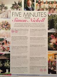 wedding flowers and accessories magazine floral trends for 2017 simon nickell design