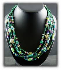 gemstone beaded necklace images Turquoise bead necklace jpg