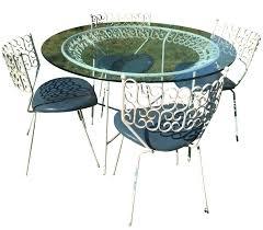 vintage u0026 used wrought iron patio and garden furniture chairish