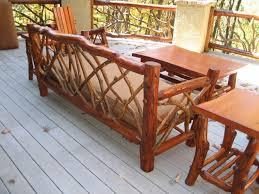 latest rustic patio dining sets rustic outdoor furniture handmade