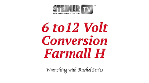 6 to 12 volt on farmall youtube