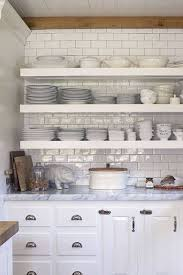 how to organize open kitchen cabinets open shelving these 15 kitchens might convince you