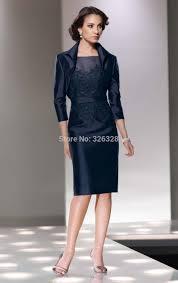 aliexpress com buy sheath knee length dress with three quarter