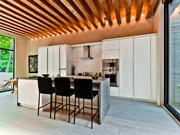 vaulted ceiling kitchen ideas interior 58 attractive exposed beams interior design ideas