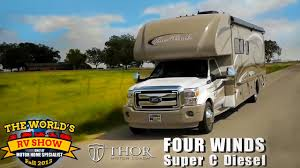 rv reviews new four winds class c diesel motorhomes super c