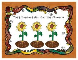 pilgrims a thanksgiving poem for preschoolers to act out