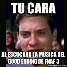 Meme Generator En Espaã Ol - memes de fnaf en español buscar con google fotos de fnaf 1 2 3
