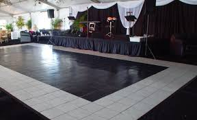 black and white dance floor rental orlando orlando event decor
