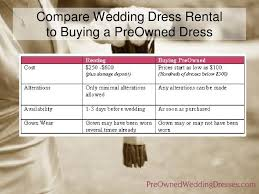 renting wedding dresses preownedweddingdresses sell wedding dress buy vs rent