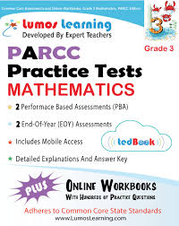 parcc assessments online practice lumos learning
