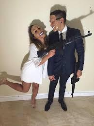 clever halloween costume ideas for couples the purge couples costume halloween costumes pinterest