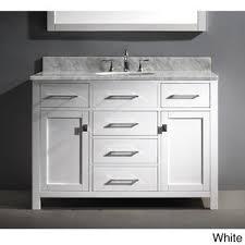48 single sink bathroom vanity virtu usa caroline 48 inch single sink bathroom vanity set