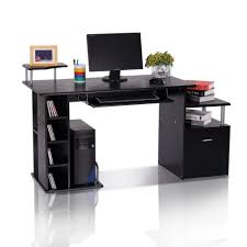 Large Black Computer Desk Furniture Black Computer Desks Home Desk White Desk Black