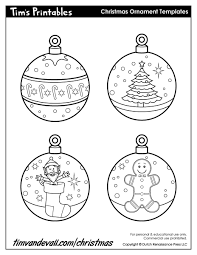 ornament printable templates printable template 2017