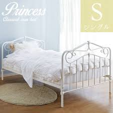 Antique White Metal Bed Frame Samurai Furniture Rakuten Global Market Princess Bed Iron Bed