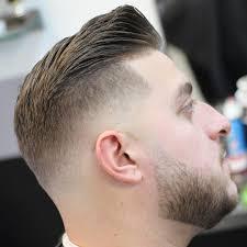 mens hairstyles fat face fade haircut