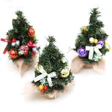 realistic mini tree plastic small pine trees
