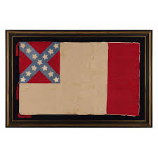 History Behind The Confederate Flag Jeff Bridgman Antique Flags And Painted Furniture Very Rare