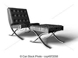 sedia barcellona sedia barcellona render 3d illustrazione d archivio cerca