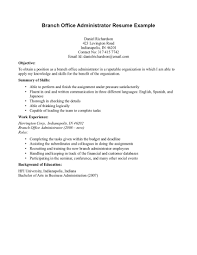Resumes Objectives Examples by 16 Office Manager Resume Objective Job And Resume Template In