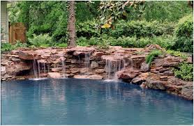 backyards mesmerizing pond backyard pond diy waterfall simple