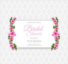 bridal invitation templates 9 bridal shower invitation templates free premium templates