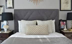 upholstered headboard king queen full twin size west elm