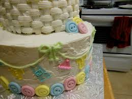 two tier ducky baby shower cake sweet mivi