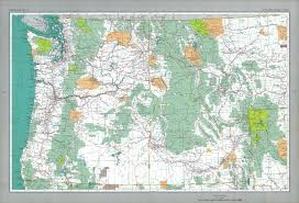 map usa northwest the national atlas of the united states of america perry