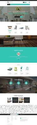 Chair Website Design Ideas Website Template 52693 Furniture Company Design Custom Website