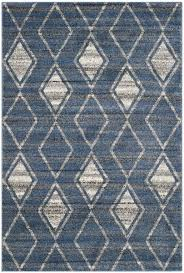 Cream And Blue Rug Berber Inspired Area Rugs Tunisia Collection Safavieh Com