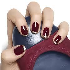 essie gilt tip french manicure nail art design essie looks