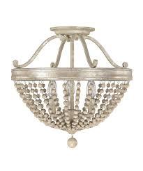 Flush Ceiling Lighting by Capital Lighting 4444 Adele 16 Inch Wide Semi Flush Mount