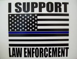 free yard signs available to thank law enforcement in las cruces